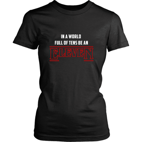 'EleveN' Women's Fitted T-shirt - Gifts For Reading Addicts