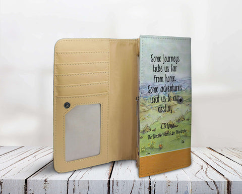 """The Lion,The Witch & the Wardrobe""Womens Wallet - Gifts For Reading Addicts"