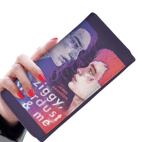 Ziggy, Stardust and Me Book Cover Womens Wallet - Gifts For Reading Addicts