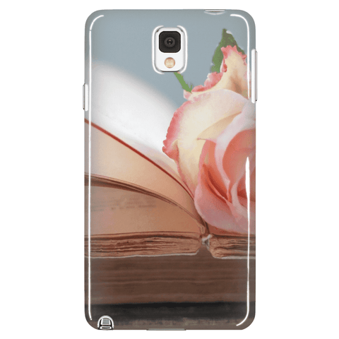 Flower on Book Phone Cases-For Reading Addicts