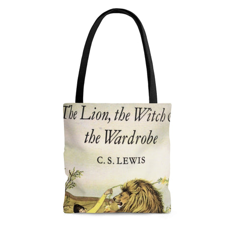 The Lion,the Witch & The Wardrobe Book Cover Tote Bag - Gifts For Reading Addicts