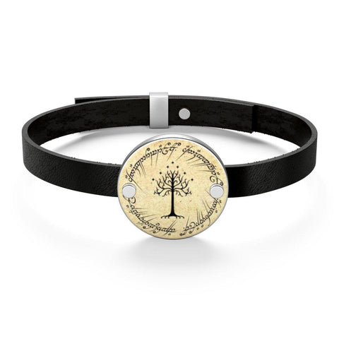 The Lord Of The Rings Leather Bracelet - Gifts For Reading Addicts