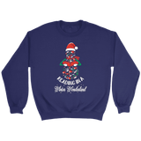 """Reading in a winter wonderland"" Sweatshirt - Gifts For Reading Addicts"