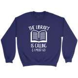 """The library"" Sweatshirt - Gifts For Reading Addicts"