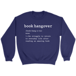 """Book hangover"" Sweatshirt"