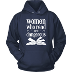 """Women who read"" Hoodie - Gifts For Reading Addicts"
