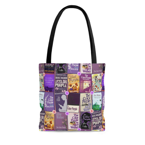 The Color Purple book Covers Tote Bag - Gifts For Reading Addicts