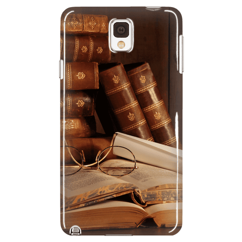 Books & Glasses Phone Cases - Gifts For Reading Addicts
