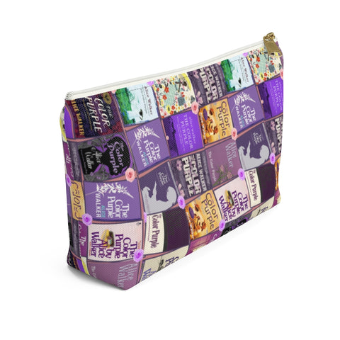 The Color Purple Accessory Pouch for book lovers - Gifts For Reading Addicts