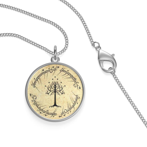 The Lord Of The Rings Single Loop Necklace - Gifts For Reading Addicts