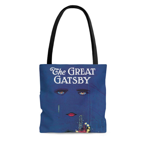 The Great Gatsby Book Cover Tote Bag - Gifts For Reading Addicts