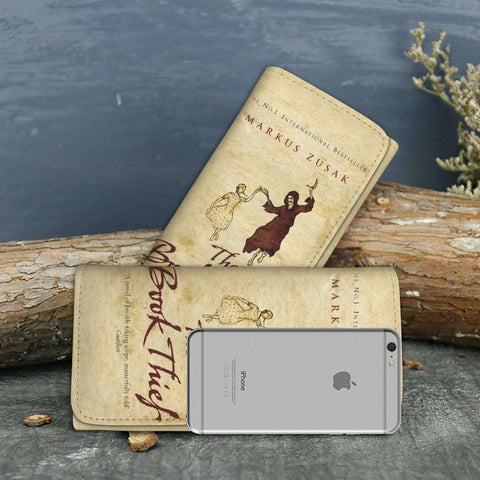 """The Book Thief""Womens Wallet - Gifts For Reading Addicts"