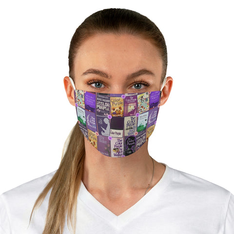The Color Purple Book Covers Fabric Face Mask - Gifts For Reading Addicts