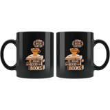"""Drink Good Coffee""11oz Black mug"