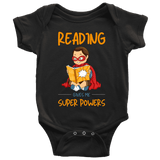 """Reading gives me"" BABY BODYSUITS - Gifts For Reading Addicts"