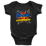 ''Reading gives me''BABY BODYSUITS