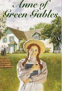 Anne of Green Gables Book cover Locket Necklace keyring silver & Bronze tone