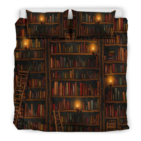 Dream Library Bookish Bedding - Gifts For Reading Addicts