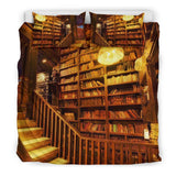 Epic Library Bookish Bedding-For Reading Addicts