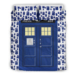 Doctor Who TARDIS Duvet Cover-For Reading Addicts