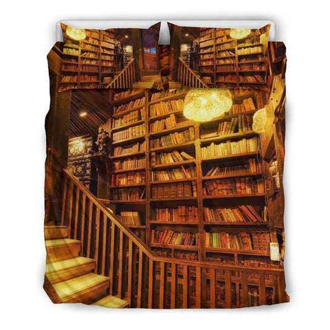 Epic Library Bookish Bedding - Gifts For Reading Addicts