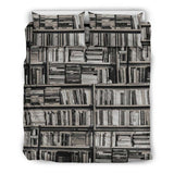 Book Spine Vintage Bedding - Gifts For Reading Addicts