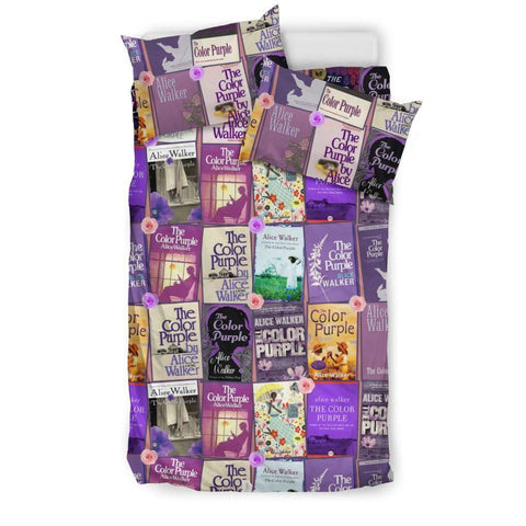 The Color Purple Book Covers Bedding - Gifts For Reading Addicts