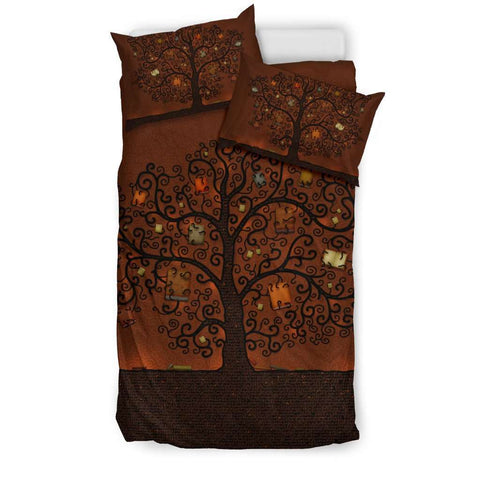 Bookish Tree of life Bedding-For Reading Addicts