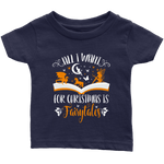"""All I Want For Christmas""Infant T-Shirt - Gifts For Reading Addicts"