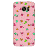 Colorful Bookish Pattern Phone Case Pink - Gifts For Reading Addicts