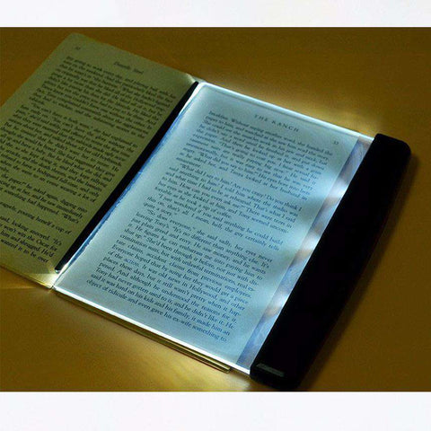 Creative LED Reading Panel Book Light - Gifts For Reading Addicts
