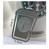 Creative Starbucks Metal Bookmark Collector's Edition - Gifts For Reading Addicts