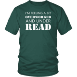 """Under Read"" Unisex T-Shirt-For Reading Addicts"