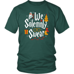"""We Solemnly Swear"" Unisex T-Shirt - Gifts For Reading Addicts"