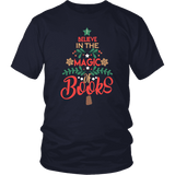 """The magic of books"" Unisex T-Shirt - Gifts For Reading Addicts"
