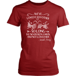 """We've loved each other"" Women's Fitted T-shirt - Gifts For Reading Addicts"