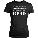 """Under Read"" Women's Fitted T-shirt - Gifts For Reading Addicts"