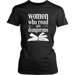 """Women who read"" Women's Fitted T-shirt"