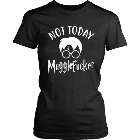 """Not Today"" Women's Fitted T-shirt - Gifts For Reading Addicts"