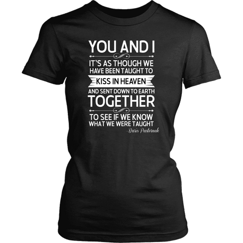 """You and i"" Women's Fitted T-shirt"