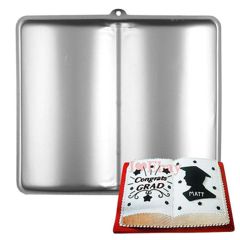 Book Shaped Cake Pan/Tin - Gifts For Reading Addicts