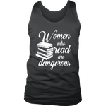 """Women who read"" Men's Tank Top - Gifts For Reading Addicts"