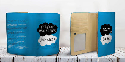 """The Fault In Our Stars""Womens Wallet - Gifts For Reading Addicts"