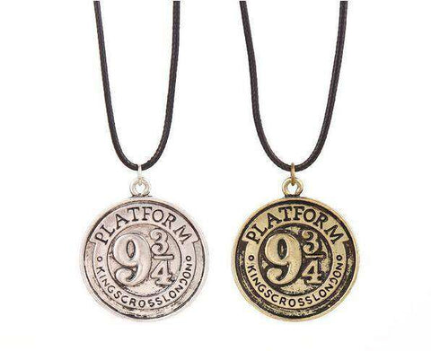 Hogwarts platform 9 3/4 Vintage necklace - Gifts For Reading Addicts
