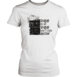 """To read or not to read"" Women's Fitted T-shirt"