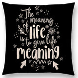Bookish Quotes Cushion Covers, Color - a022520-For Reading Addicts
