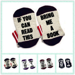 If You Can Read This Bring Me A Book bookworm book lover Socks - Gifts For Reading Addicts