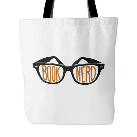 book nerd tote bag-For Reading Addicts