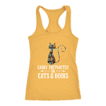 """Cats and books"" Women's Tank Top"