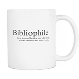 bibliophile mug - Gifts For Reading Addicts